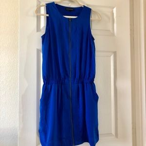 🐬Electric blue dress with pockets Banana Republic